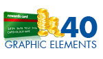 64 High Business Graphic Elements