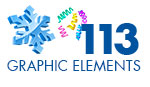 176 High Holidays (November -January) Graphic Elements